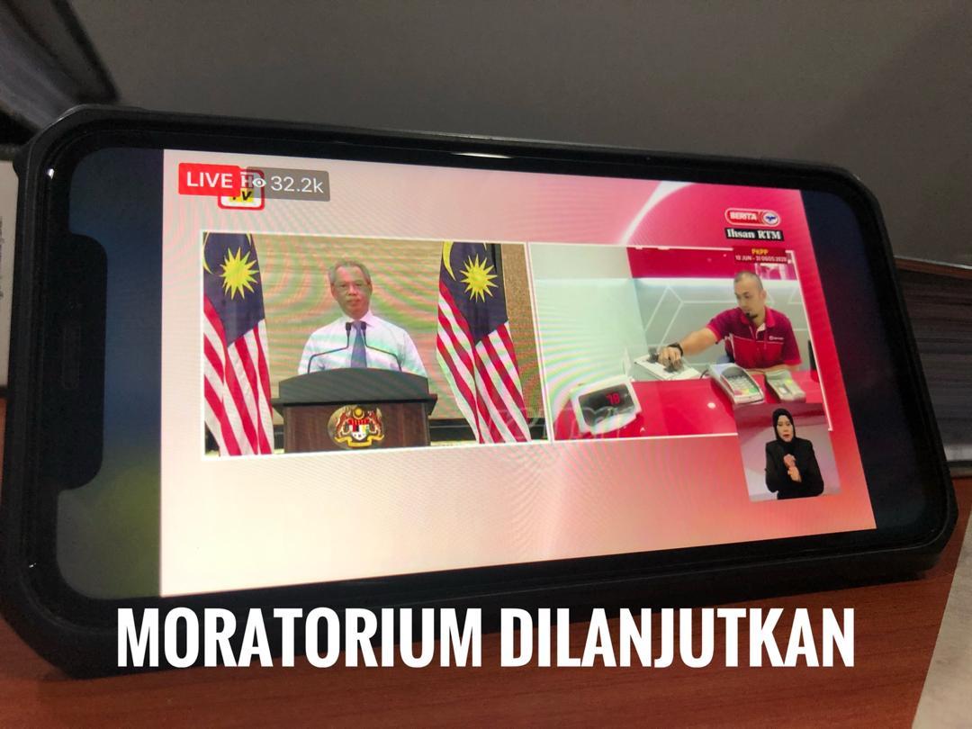 lanjutan moratorium