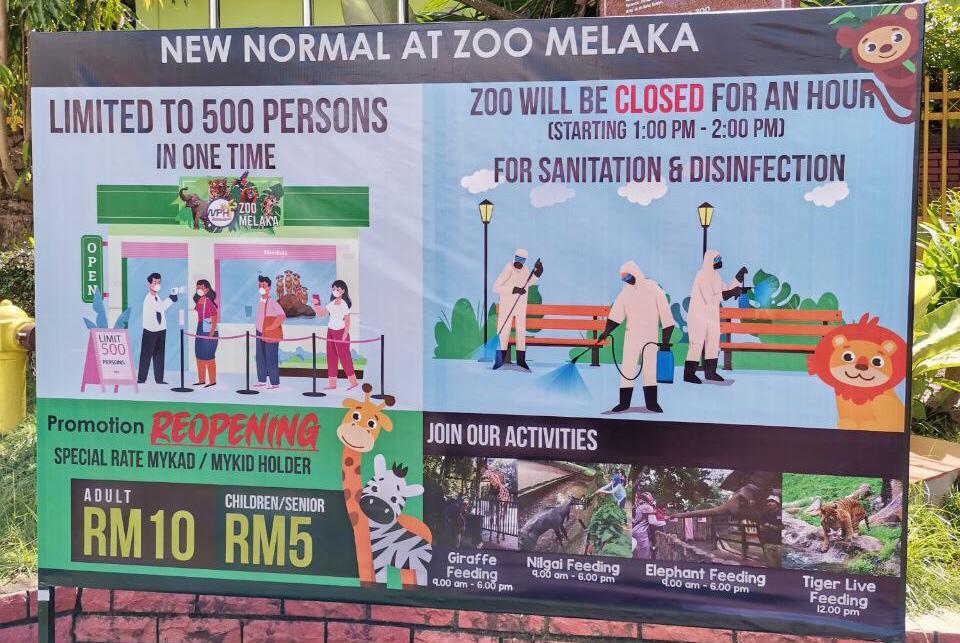 Harga Tiket Zoo Melaka Pkp 2020